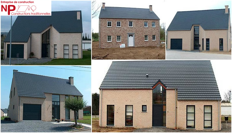 Constructeur de maison traditionnelle namur en belgique for Nouvelle construction maison