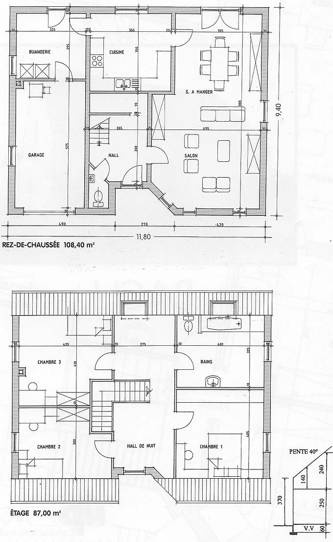Stunning plans maison bach with plan pour construire maison for Plans de maison
