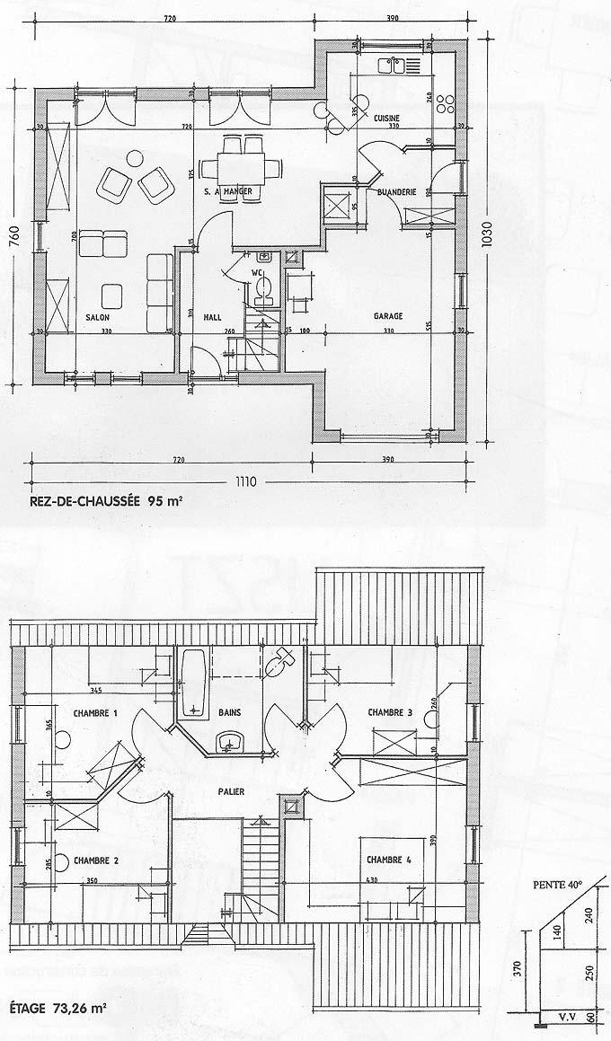plan maison liszt