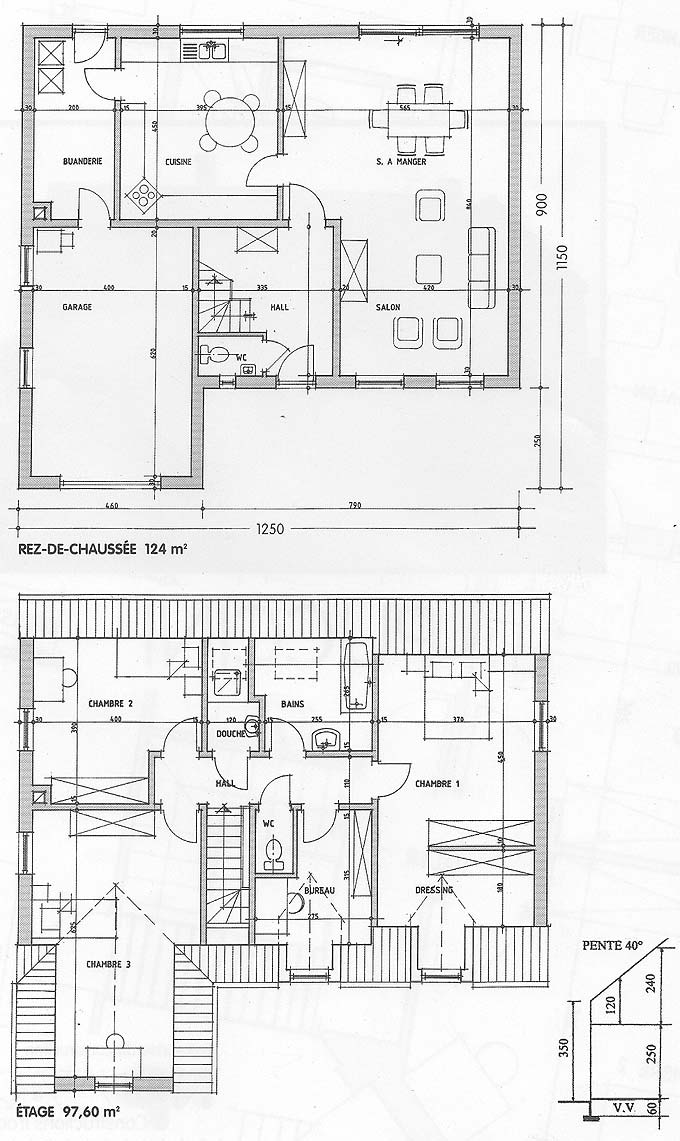 plan maison puccini