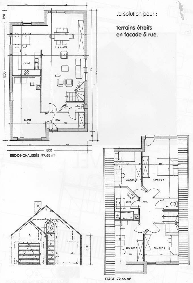 plan maison ravel