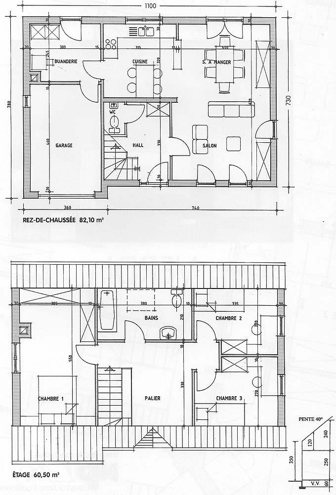 Plan maison Verdi